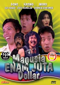 Manusia 6 juta dollar - Film Terbaik Warkop DKI
