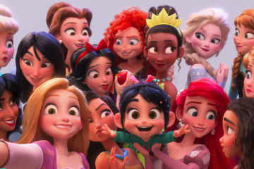 disney princess di ralph breaks the internet