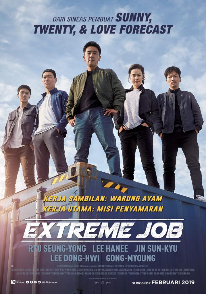 extreme job tayang indonesia