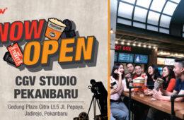 CJ CGV* Cinemas Studio Pekanbaru