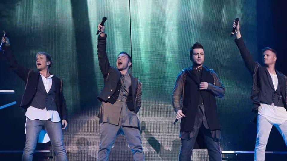 Westlife: The Twenty Tour