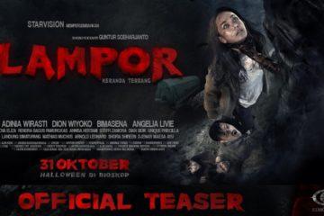 Poster film Lampor: Keranda Terbang