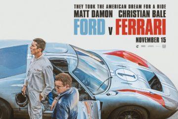 Poster film Ford v Ferrari