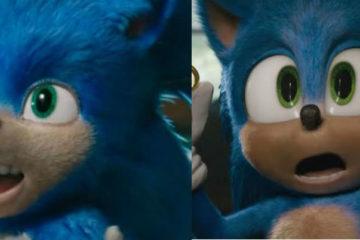 desain baru sonic the hedgehog