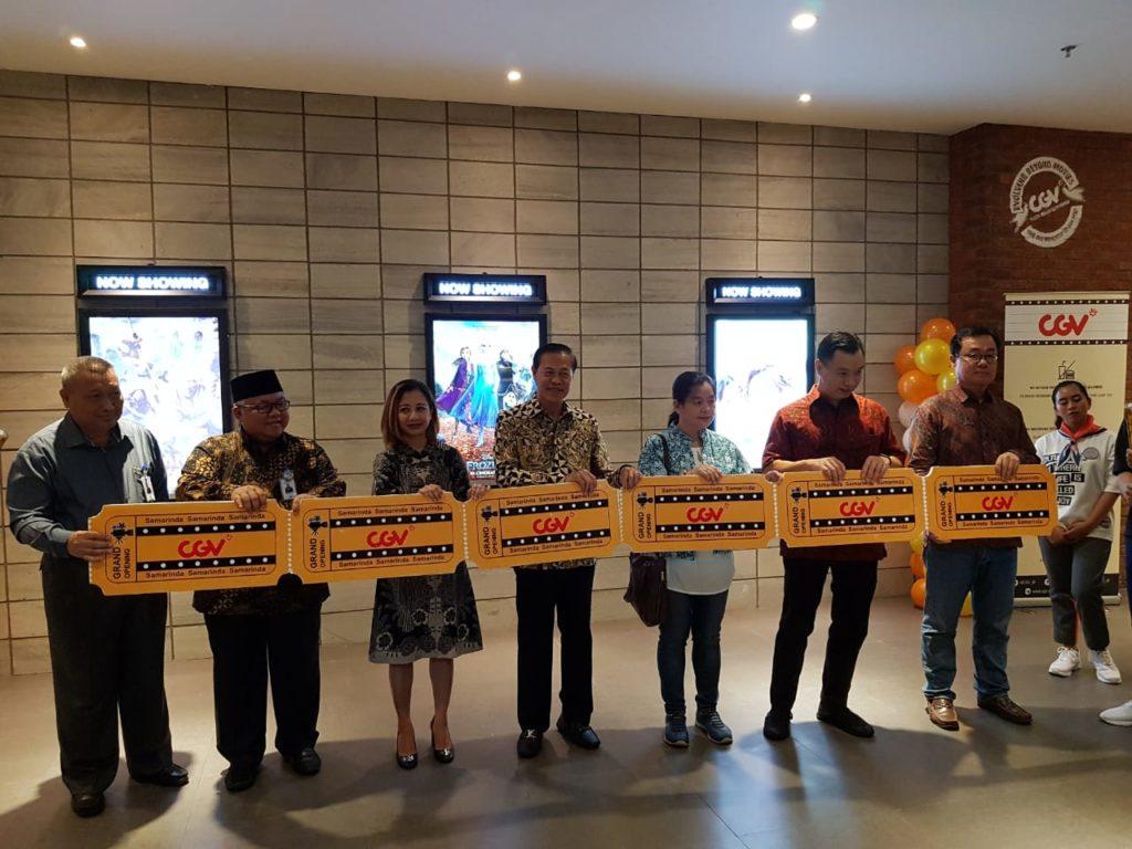 cgv plaza samarinda resmi dibuka