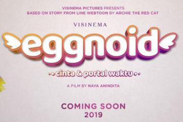 Poster Film Eggnoid: Cinta & Portal Waktu
