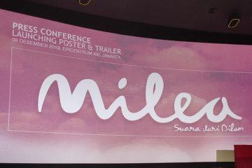 Launching Trailer & Poster Milea: Suara Dari Dilan