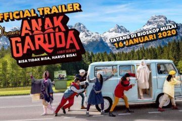 Poster film Anak Garuda