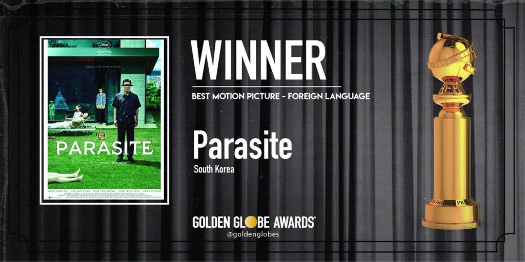 parasite golden globe 2020