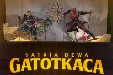 Satria Dewa Gatotkaca Take Off