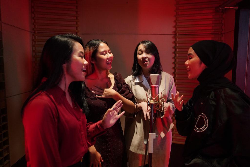 empat penyanyi indonesia soundtrack mulan