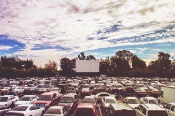 bioskop drive in ramai